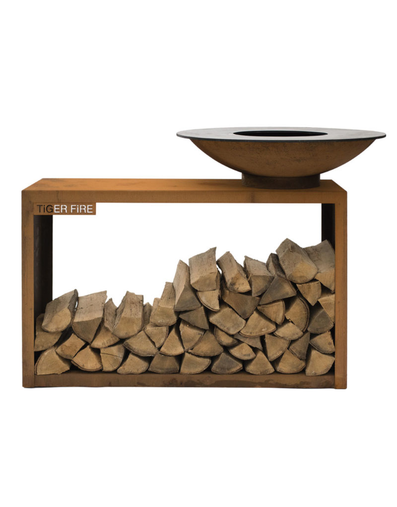 Barbecue bois Storage | Polyflam