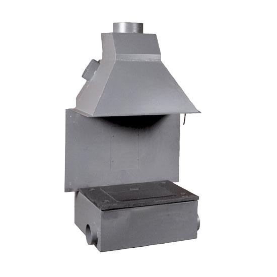 Foyer à bois Polyflam Monobloc 710 | cheminées à bois