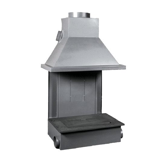 Foyer à bois Polyflam Monomistral MM 25 | cheminées à bois