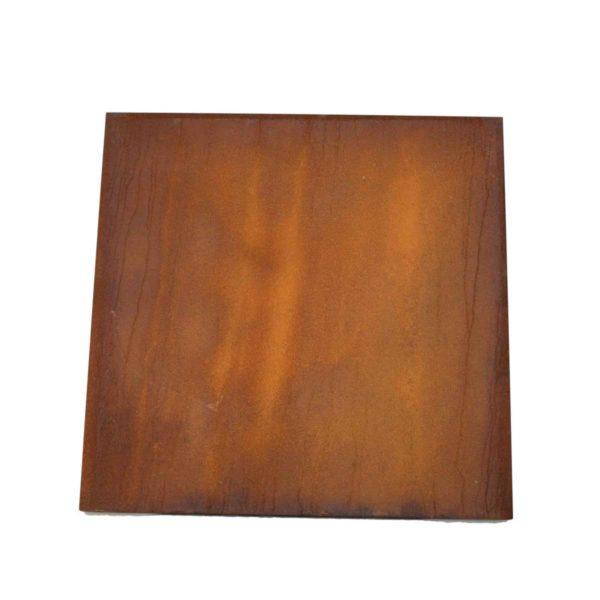 Couvercle carré de 100 cm pour barbecue bois LArge | Polyflam