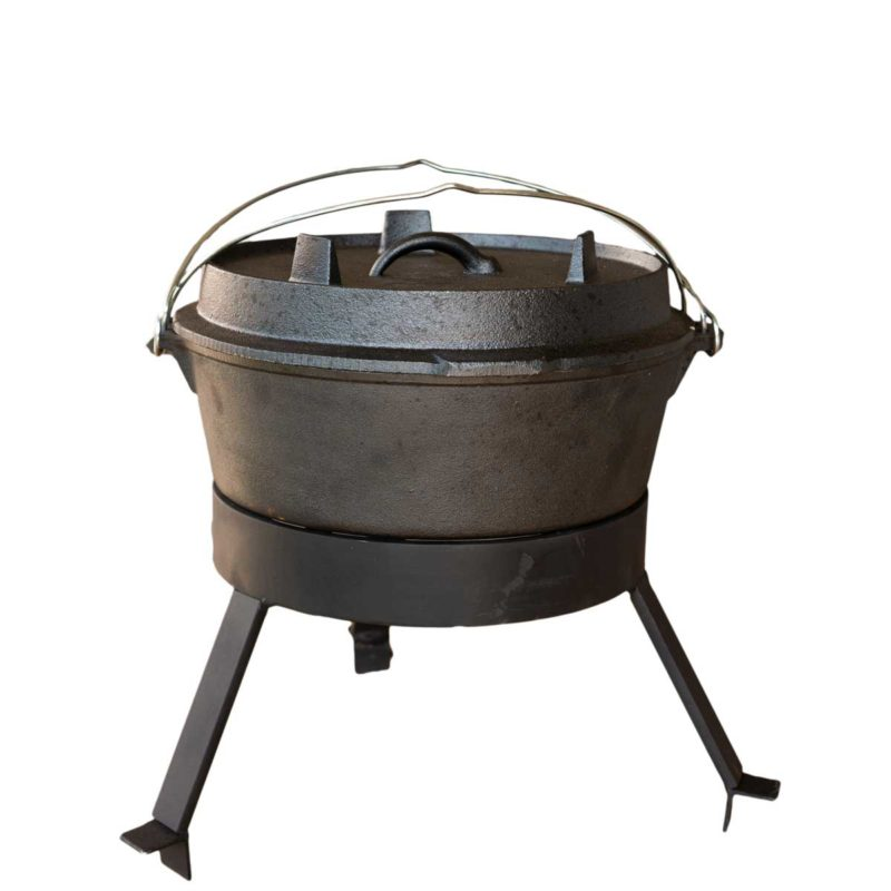 Four néerlandais pour barbecue bois Large | Polyflam