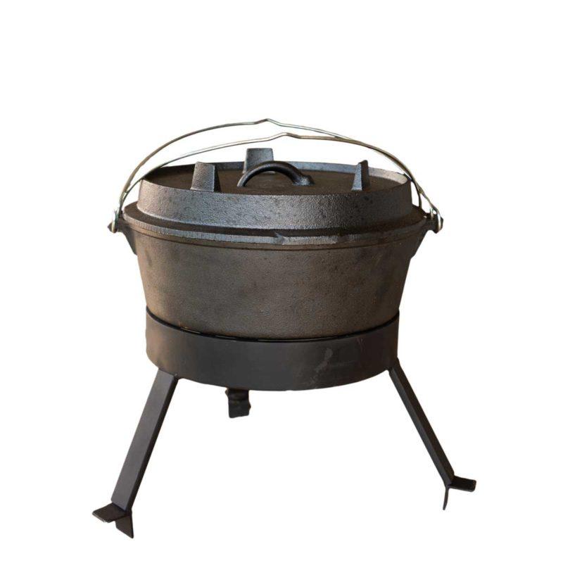 Four néerlandais pour barbecue bois Medium | Polyflam