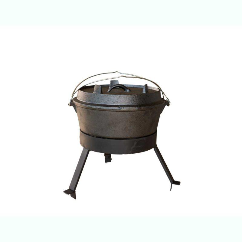 Four néerlandais pour barbecue bois Mini | Polyflam