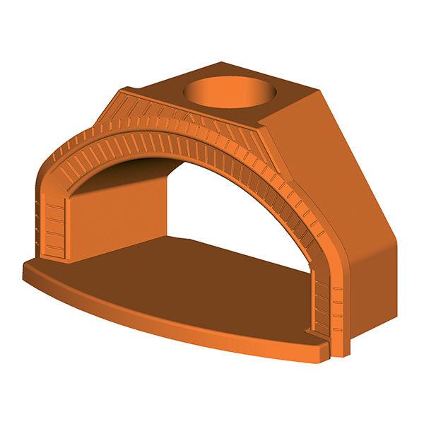 Arc pour le four réfractaire réfractaire à bois Personal | Accesoires Polyflam