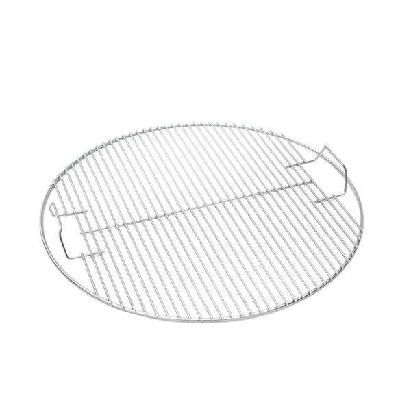 Grille en inox. pour barbecue bois Large   Polyflam