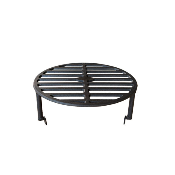 Grille surélevée pour barbecue bois Mini | Polyflam