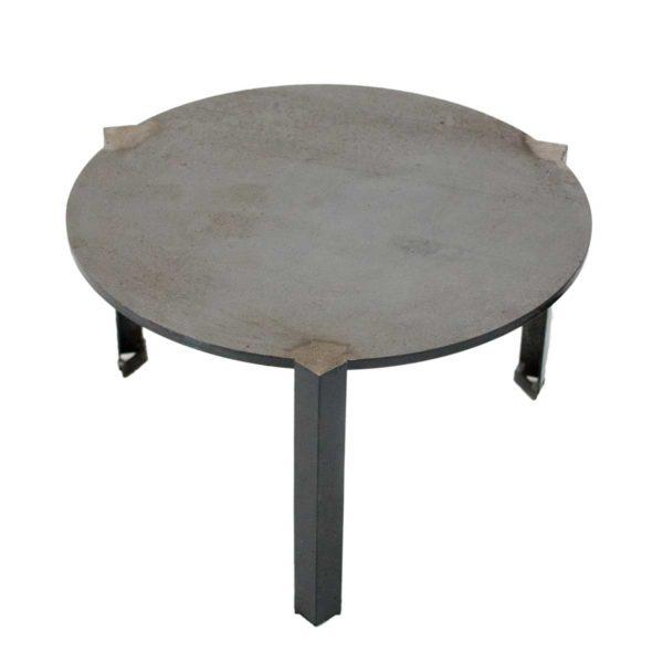Plancha surélevée pour barbecue bois Large | Polyflam