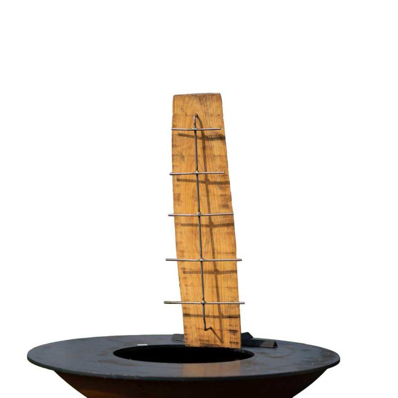 Plateau Saumon pour barbecue bois Medium | Polyflam