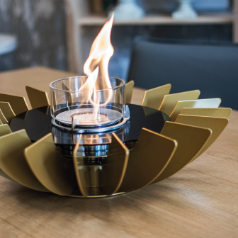 cheminée de table cosmo