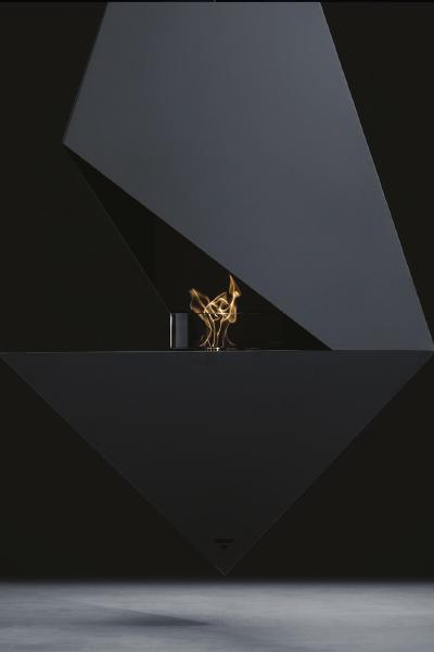 Cheminée suspendue Pythagore